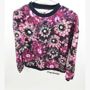 Ted Baker Printed Killay Sweater